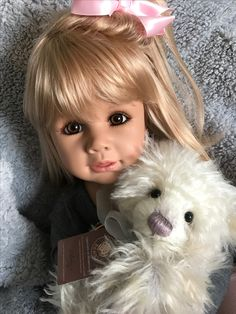 Masterpiece doll Julia and Charlie bear