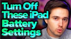 iPadOS 15: 14 Battery Tips You NEED To Know - YouTube