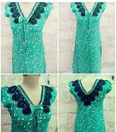 Fashion Sewing, Crochet Fashion, Fashion Wear, Hijab Fashion, Womens Fashion, African Attire, African Fashion Dresses, Kurta Neck Design, Indian Designer Wear