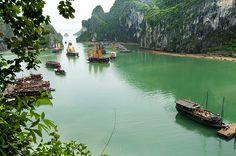 Ha Long Bay View from Heaven Cave by  DocBudie, via Flickr