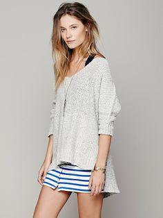 Free People Easedrop Stripe Skirt, $68.00