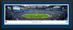 Indianapolis Colts Panoramic Picture - Lucas Oil Stadium Panorama - Deluxe Frame $199.95