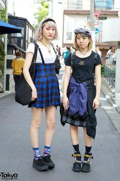 Harajuku Girls in Platforms