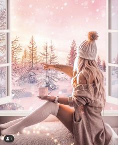 It's almost impossible to watch a sunset and not dream away. Cute Photography, Winter Photography, Stylish Girls Photos, Girl Photos, Silvester Trip, Shotting Photo, Poses Photo, Cute Girl Drawing, Artsy Photos