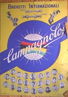 Campagnolo vintage advertising