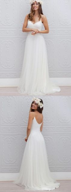 Simple Beach Wedding Dress - Dresses for Wedding Reception Check more at http://svesty.com/simple-beach-wedding-dress/
