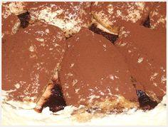 Préparation de la recette Tiramisu au Nutella :