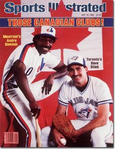 Montreal Expos and Toronto Blue Jays