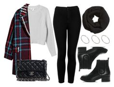 """""""Sin título #14242"""" by vany-alvarado ❤ liked on Polyvore featuring Topshop, Monki, Chanel, H&M and ASOS"""
