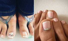 21 Beautiful Wedding Pedicure Ideas for Brides   Page 2 of 2   StayGlam