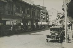 Manila Philippines, Spanish Colonial, Background For Photography, Old City, Beautiful Buildings, Old Photos, Street View, Explore, Black And White