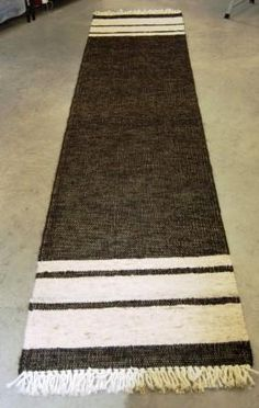Handwoven Alpaca Rug Runner - 2.5 x 11 ft: Alpaca Socks, Gloves, Scarves, Clothing and Gifts... Your Alpaca Products Store since 2002!