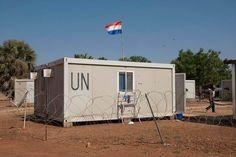 Een Nederlandse marechausseevestiging in Zuid-Soedan