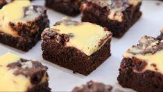 Cheesecake Brownies Recipe | How to Make Cream Cheese Brownies - YouTube Cream Cheese Brownies, Make Cream Cheese, Cream Cheese Frosting, Cheesecake Brownies, Köstliche Desserts, Chocolate Desserts, Delicious Desserts, Eat Dessert First, Dessert Bars