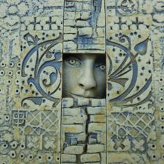 ~ Neil MacDonell - Detail of a window with 4 crosses