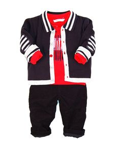 City chic boys wear by 3 Pommes for baby and toddler.