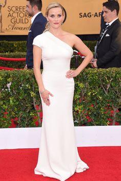 Reese Witherspoon (Giorgio Armani y Tiffany & Co. - SAG Awards 2015