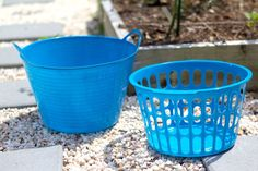 Gather your garden goodies and wash them with this easy Dollar Store hack! There are many pricey gathering baskets out there to make bringing in your garden goo…
