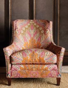 Cambay Paisley Print Schumacher from The Elephant Room