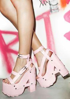 d3ed81d992f nightfall platforms kawaii pastel pastel goth pastel grunge cyber ghetto  fachin platforms shoes heels dollskill plus plus size shoes
