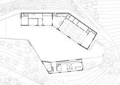 School Complex in Chermignon,Ground Floor Plan