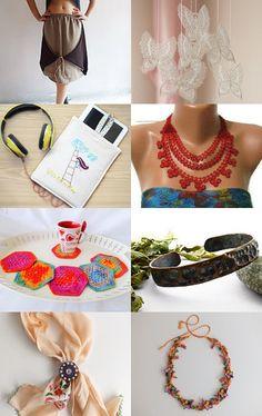 Mixed Handmade ♥  by Arzu Tezbasaran on Etsy--Pinned with TreasuryPin.com