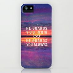 Psalm 121:8 He guards you always iPhone & iPod Case by Pocket Fuel - $35.00