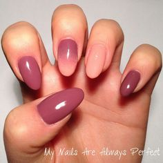 Pink ombre nails - My Nails Are Always Perfect Ombre Shellac, Pink Ombre Nails, Easy Nail Art, My Nails, Tumblr, My Favorite Things, Nude, Orange, Quotes