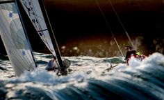 What is the world's best yacht racing photograph of the year 2013 ?