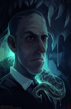 Lovecraft Limited Edition Lithograph in the Cthulhu Shop