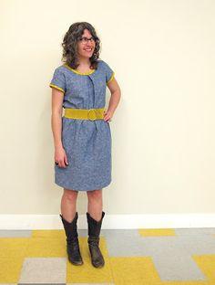 Sorbetto Dress -a free colette pattern