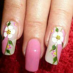 Nails Spring Nail Art, Spring Nails, Love Nails, Pretty Nails, Nancy Nails, Sunflower Nail Art, Nail Polish Art, Hair Skin Nails, Fabulous Nails