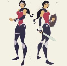 Wonder Woman sketches by Phil Bourassa