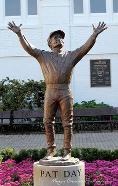 Pat Day Statue at Churchill Downs #Louisville KY Megan - DBruggs' Photos