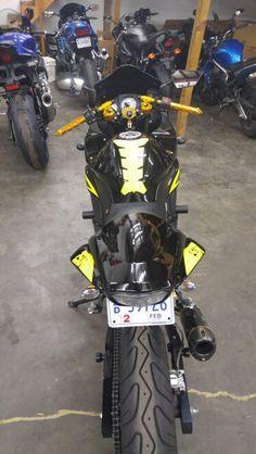 L Outdoor Indoor Black+Red Motorcycle Cover For Kawasaki Ninja 250 250R EX250