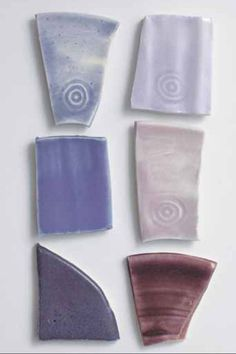 Purple Glaze Recipes – Cone 6 – 8 Porcelain, Oxidation