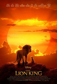Disney Disney has released the first poster for the upcoming CGI The Lion King. The poster shows Mufasa and young Simba surveying thei. John Oliver, Donald Glover, Le Roi Lion 1, Le Roi Lion Film, Movies 2019, New Movies, Movies Online, Watch Movies, Prime Movies