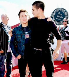 Dylan Sprayberry and Tyler Posey - 2014 MTV Video Music Awards
