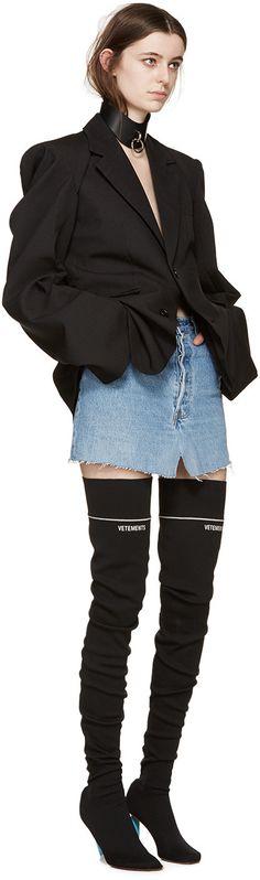 Vetements - Blue Denim Miniskirt                                                                                                                                                                                 More