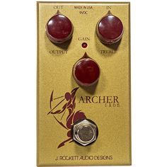 The Archer Ikon is a 2-in-1 type guitar pedal featuring clean boost. Introduce gain to attenuate the clean signal and blend the two for magical guitar sound