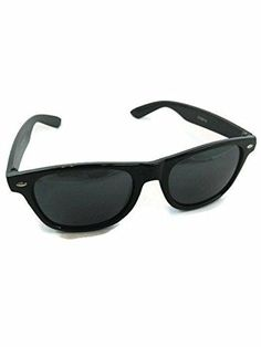 ba5f854a7f 8.49 free shipping Dark Sunglasses Black Frame Black Lens Unisex 100  Percent... https