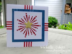Fun card made with CTMH stamps and dimensionals
