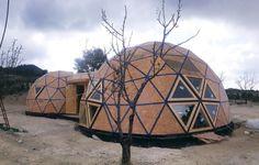 La construcción con cúpulas ahorra tiempo y el metro cuadrado cuesta desde 500 euros