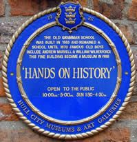 Grammar School  The Hull Grammar School was built in 1583 and continued as a school until 1878. Amongst the good and famous educated here ar...