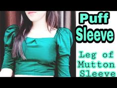 DIY Puff Sleeve Crop Top Cutting and stitching tutorial / Leg Of Mutton sleeve pattern Tutorial - YouTube