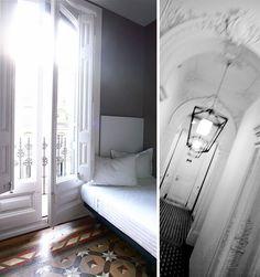Hotel Praktik Rambla, Barcelona by {this is glamorous} Closet Bedroom, Master Bedroom, Dream Vacation Spots, Floors, Tile Flooring, Home Board, Five Star Hotel, Home Decor Inspiration, French Doors