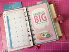 How to make a divider page for your Filofax. By DIYfish