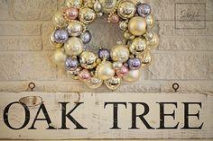 A Christmas Home Photo Shoot...Oak Tree Cottage | Shabbyfufu