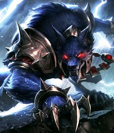 """e т e r n a l """"Let's make this fun."""" Warwick - The Blood Hunter clash of clan, league of legends"""