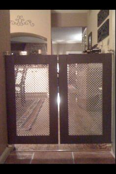 My handmade doggy gate.